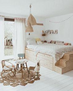 Girls Bedroom, Bedrooms, Tumblr Bedroom, Little Girl Rooms, Kid Spaces, Kidsroom, Kid Beds, Kids Decor, Cozy House