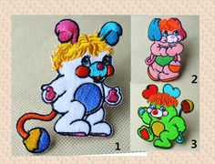 New to craftapplique on Etsy: The Popples patch Cartoon Embroidery Cute embroidery patch American cartoons Embroidered patch iron on patch sew on patch A146 (3.00 USD)