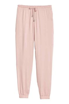 Pull-on trousers - Powder pink - Ladies | H&M GB