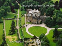 Skibo castle,built for Andrew Carnegie and now a luxury resort.
