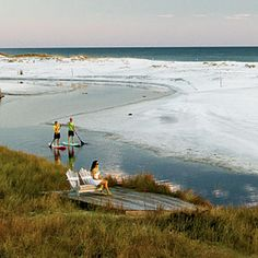 Grayton Beach FL!  I got married here and had the house that sat right behind this:)))