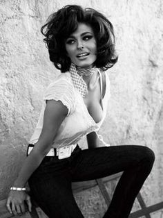 The Italians have it! Sophia Loren.