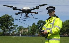 Police force recruits 'drone manager' to take control of crime-fighting 'flying squad'