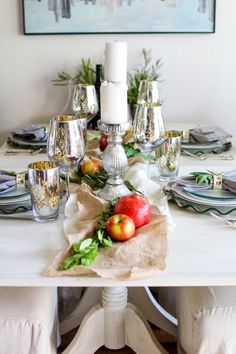 7 Steps to a Thanksgiving Tablescape   http://www.carriebradshawlied.com