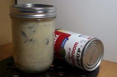 ditch the nasty canned cream of (fill in the blank) that's loaded with preservatives and junk we don't need... great recipe to make your own, super easy!  Can't wait to do this!! I've been looking for a recipe like this! :)