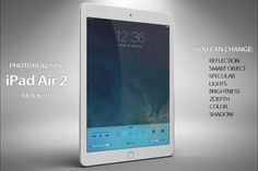 Apple iPad Air 2 Mock Up by mockupstore.net on Creative Market