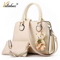 Valenkuci Women Messenger Bags For Women Leather Handbags Women Designer Handbags Crossbody Bags Top-Handle Bags Bolsos SD-289
