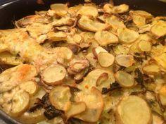 Patate e funghi al forno - La ricetta di Buonissimo