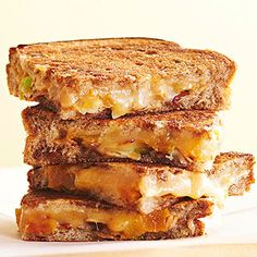 Smoked Gouda and Apricot Melts From Better Homes and Gardens, ideas and improvement projects for your home and garden plus recipes and entertaining ideas.