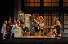 Annie musical set design - Google Search