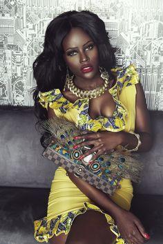 AFROPOLITAN: Photo - My GAWD - breathtaking!. #Africanfashion #AfricanWeddings #Africanprints #Ethnicprints #Africanwomen #africanTradition #AfricanArt #AfricanStyle #Kitenge #AfricanBeads #Gele #Kente #Ankara #Nigerianfashion #Ghanaianfashion #Kenyanfashion #Burundifashion #senegalesefashion #Swahilifashion ~DK