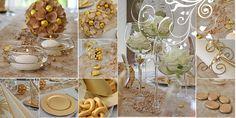 Die schönsten dekoration goldene hochzeit 2015 Check more at http://www.rnadekoration.com/2015/06/21/die-schonsten-dekoration-goldene-hochzeit-2015/