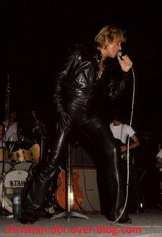 johnny hallyday à nancy 1979