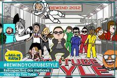 Rewind YouTube Style 2012 - A Retrospectiva | #ModoMeu