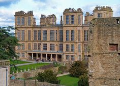 Hardwick Hall (and the ruins of the Old Hall)