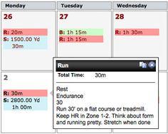 Triathlon training