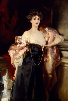 #PORTRAIT OF LADY HELEN VINCENT, VISCOUNTESS D'ABERNON  |  John Singer Sargent #oil #American circa 1904