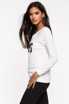 Свитшот Размеры: S, M, L Цвет: кремовый Цена: 1421 руб.     #одежда #женщинам #свитшоты #коопт