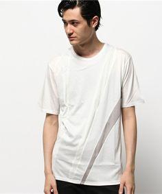 ato MENS(アトウ メンズ)の60/2リヨセル天竺カットソー(Tシャツ/カットソー) ホワイト