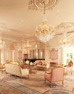***Home Interiors Paris - Luxurious Living Room***