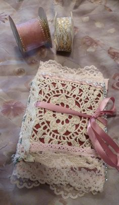 I just listed Handmade Ribbon Lace Book on The CraftStar @TheCraftStar #uniquegifts