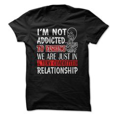 IM NOT ADDICTED ୧ʕ ʔ୨ TO FISHING WE ARE JUST IN Φ_Φ A VERY COMMITTED RELATIONSHIP.Do You Love Fishing? Then this is the PERFECT tee for You! IM NOT ADDICTED TO FISHING WE ARE JUST IN A VERY COMMITTED RELATIONSHIPFISHING