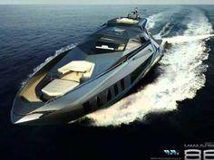 Дизайн моторной яхты Manuscript 88