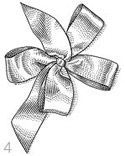 Learning to tie 3 types of beautiful bows is a good place to start when planning hand-made wedding decor.