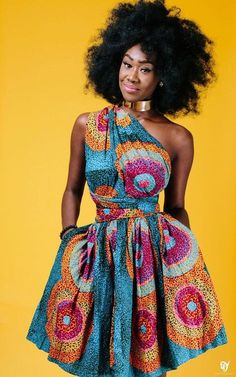 Dashiki Africa Bazin Riche Wax Print Dresses Sexy Summer Off Shoulder African Print Clothing For Women Back Cross Ankara Dress Vestidos African Fashion Designers, African Inspired Fashion, African Print Fashion, Africa Fashion, Fashion Prints, Tribal Fashion, African Attire, African Wear, African Women