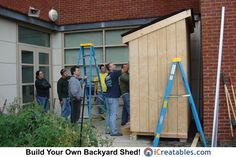 Pictures of Lean To Sheds | Photos of Lean To Shed Plans