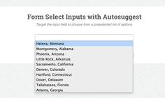 How To Restyle Select Menus like Autosuggest Fields