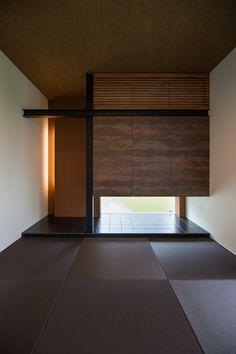 愛知・名古屋の注文住宅ならクラシスホームへ。自由設計でありながら価格を抑えてデザイン性の高い注文住宅をご提案しています。 和室 床の間 吊押入れ 畳 造作