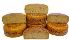 Friese Nagelkaas dankt zijn  naam aan de toevoeging van kruidnagelen. De Friese nagelkaas is ook van het kantermodel. Deze kaas heeft namelijk geen 'bolle wangen', zoals de Goudse kaas. Deze kaas wordt bereid uit magere melk. Het zuivel is hard, kruidig en wat bros. Dutch Cheese, Goat Cheese, Sweet Potato, Holland, Muffin, Vegetables, Breakfast, Food, Sheet Music
