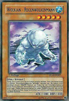 Original KONAMI Yu-Gi-Oh! Trading Card  GLAS-DE007 Wolkian - Regenwolkenmann / Cloudian - Nimbusman Deck: GLAS Gladiator's Assault Seltenheit: Common Kartentyp: Effekt-Monsterkarte Typ: Fee / Effekt ATK/DEF: 1000/1000 Kartennummer: 20003527  | Günstig bei eBay kaufen!