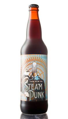SteamPunk - Product Naming, Branding, Packaging Design on Behance
