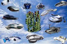 Sky traffic jam.... Когда автомобили массово победят гравитацию