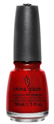 China Glaze | All Color: Go Crazy Red