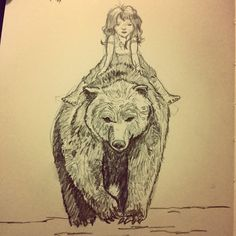 Los Bocetos De Juanito. #sketch #pencil #bear                                                                                                                                                                                 More