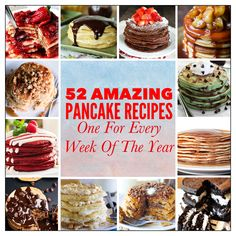 52 Amazing Pancake R