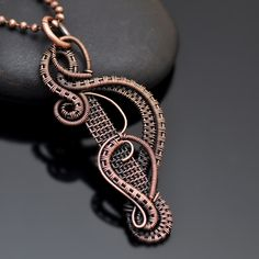 Nicole Hanna Jewelry creates one of a kind, artisan wire wrap jewerly in copper…