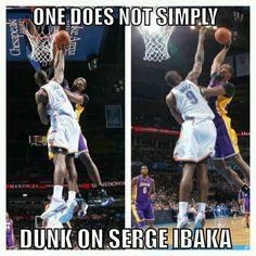 Serge Ibaka #9 #OKCThunder #Thunderup