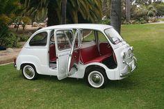 """doyoulikevintage:  """"1960 Fiat multipla  """""""