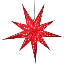 Sunlight red star lamps http://www.29june.com/index.php/paper-stars.html