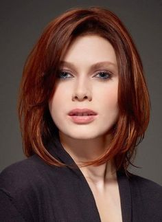 Hot and Fashionable Inverted Bob Hairstyles 2018 for Women Hair Color For Fair Skin, Red Hair Color, Cool Hair Color, Red Hair For Blue Eyes, Pink Hair, Inverted Bob Hairstyles, Straight Hairstyles, Cool Hairstyles, Hairstyles 2018