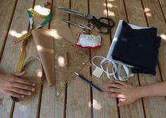Selber machen: DIY: Matrosenkragen | Nido
