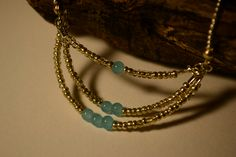 Collier chaîne d'argent et perles imitation perle de jade by Golden Bat // Shop>> https://www.etsy.com/fr/listing/227170893/collier-chaine-dargent-et-perles?ref=shop_home_feat_1
