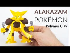Alakazam Pokemon – Polymer Clay Tutorial - YouTube