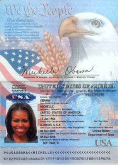 white house staffer email hacked revealing michelle obama schedule baek yeon revealed the secret behind her birth sbs Passport Template, Passport Card, Michelle Obama, Drivers License Pictures, United States Passport, Driver License Online, Driver's License, British Passport, Birth Certificate Template