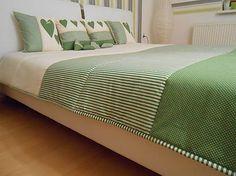 Mackawork / prehoz na manželskú posteľ 200 x 200 cm