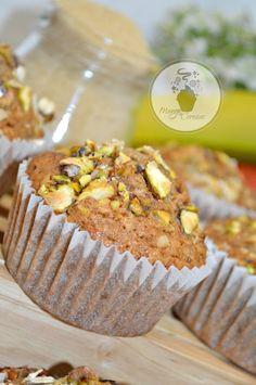 Muffins integrales de avena, solo en tres pasos